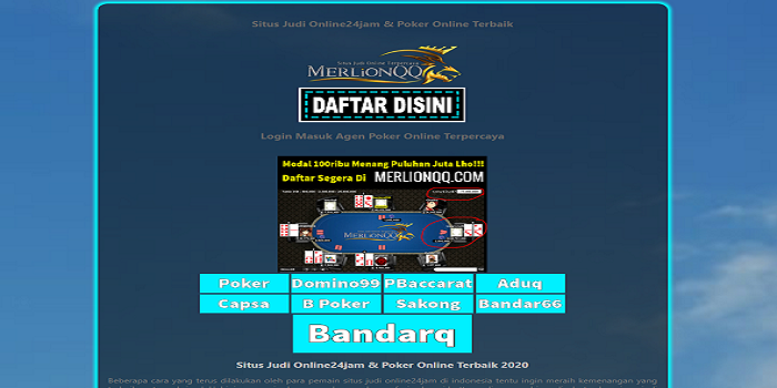 Where To Buy Or Gamble About Casino Games Or Sports Online bandarqq?